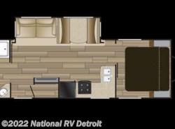 New 2018  Cruiser RV Fun Finder Xtreme Lite 26RB by Cruiser RV from National RV Detroit in Belleville, MI
