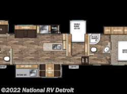 New 2018  Coachmen Chaparral 373MBRB by Coachmen from National RV Detroit in Belleville, MI