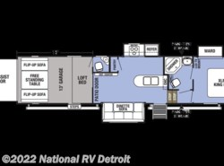 New 2018  Forest River XLR Boost 37TSX13 by Forest River from National RV Detroit in Belleville, MI