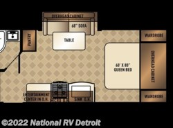 New 2018  Palomino Solaire Ultra Lite 205SS by Palomino from National RV Detroit in Belleville, MI