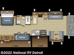 New 2018  Jayco Precept 36T by Jayco from National RV Detroit in Belleville, MI