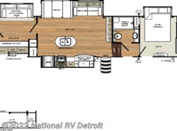 New 2019 Forest River Sandpiper 383RBLOK available in Belleville, Michigan