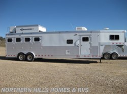 Used 2005  C & C Trailers  4 Horse w/ LQ by C & C Trailers from Northern Hills Homes and RV's in Whitewood, SD