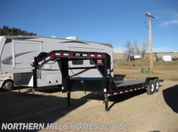 Used 2017  PJ Trailers Flatdeck 24' Flatbed Gooseneck Trailer by PJ Trailers from Northern Hills Homes and RV's in Whitewood, SD