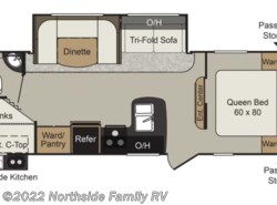 New 2019  Keystone Passport 2670BH by Keystone from Northside Family RV in Lexington, KY