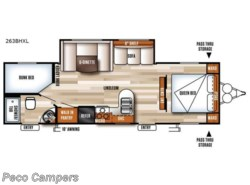New 2018  Forest River Salem Cruise Lite 263BHXL by Forest River from Campers Inn RV in Tucker, GA