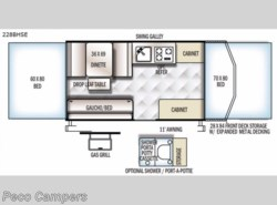 New 2018  Forest River Flagstaff SE 228BHSE by Forest River from Campers Inn RV in Tucker, GA