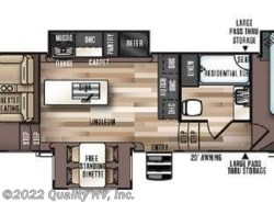 New 2018  Forest River  372RD SALEM HEMISPHERE by Forest River from Quality RV, Inc. in Linn Creek, MO