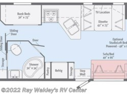 New 2018  Winnebago Vista 31BE by Winnebago from Ray Wakley's RV Center in North East, PA