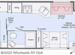 New 2017  Winnebago Vista 29VE by Winnebago from Wholesale RV Club in Ohio