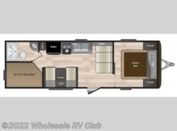 New 2019  Keystone Hideout 262LHS by Keystone from Wholesale RV Club in Ohio