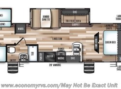 New 2017  Forest River Salem Hemisphere Lite 312QBUD by Forest River from Economy RVs in Mechanicsville, MD