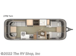 New 2019 Airstream Globetrotter 27FB Twin available in Baton Rouge, Louisiana