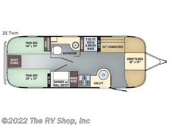 New 2019 Airstream Flying Cloud 25 Twin available in Baton Rouge, Louisiana