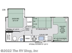 New 2019 Thor Motor Coach Four Winds 22B available in Baton Rouge, Louisiana