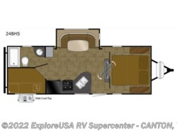 New 2018  Heartland RV North Trail  24BHS by Heartland RV from ExploreUSA RV Supercenter - CANTON, TX in Wills Point, TX