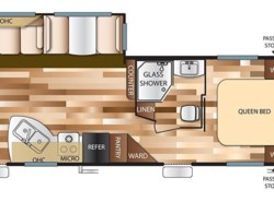 New 2017  Forest River Salem 27RLSS by Forest River from COLUMBUS CAMPER & MARINE CENTER in Columbus, GA