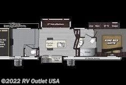 New 2019  Keystone Raptor 353TS by Keystone from RV Outlet USA in Ringgold, VA