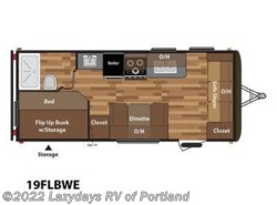 New 2018  Keystone Hideout 19FLBWE by Keystone from B Young RV in Milwaukie, OR