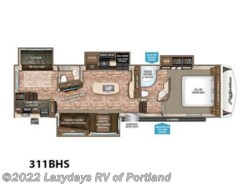New 2018  Grand Design Reflection 311BHS by Grand Design from B Young RV in Milwaukie, OR