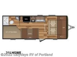 New 2018  Keystone Hideout LHS 21LHSWE by Keystone from B Young RV in Milwaukie, OR