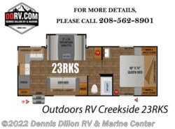 New 2018  Outdoors RV  Outdoors Rv Creekside 23Rks by Outdoors RV from Dennis Dillon RV & Marine Center in Boise, ID