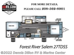 New 2018  Forest River Salem 27Tdss by Forest River from Dennis Dillon RV & Marine Center in Boise, ID