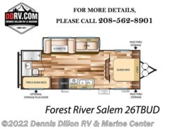 New 2018  Forest River Salem 26Tbud by Forest River from Dennis Dillon RV & Marine Center in Boise, ID
