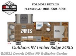 New 2018  Outdoors RV Timber Ridge 24Rls by Outdoors RV from Dennis Dillon RV & Marine Center in Boise, ID