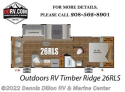 New 2018  Outdoors RV Timber Ridge 260Rls by Outdoors RV from Dennis Dillon RV & Marine Center in Boise, ID