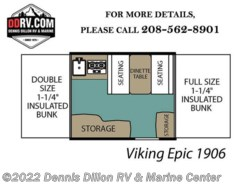 New 2018  Viking Epic 1906 by Viking from Dennis Dillon RV & Marine Center in Boise, ID