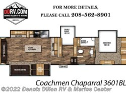 New 2018  Coachmen Chaparral 360Ibl by Coachmen from Dennis Dillon RV & Marine Center in Boise, ID
