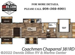 New 2018  Coachmen Chaparral 381Rd by Coachmen from Dennis Dillon RV & Marine Center in Boise, ID