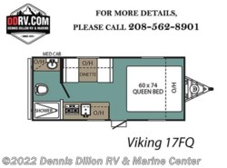 New 2018  Viking  17Fq by Viking from Dennis Dillon RV & Marine Center in Boise, ID