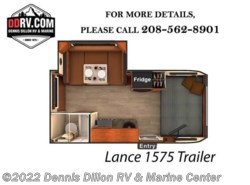 New 2018  Lance  Trailer 1575 by Lance from Dennis Dillon RV & Marine Center in Boise, ID
