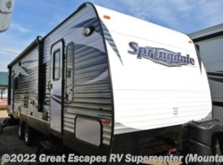 New 2016 Keystone Springdale 271RL available in Gassville, Arkansas