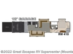 Used 2014 Heartland RV Road Warrior RW 410 available in Gassville, Arkansas
