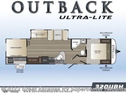 New 2018  Keystone Outback Ultra-Lite 320UBH by Keystone from Great Escapes RV Center in Gassville, AR