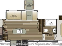 New 2018  Keystone Cougar Half-Ton 32DBH by Keystone from Great Escapes RV Center in Gassville, AR