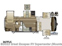 New 2018  Keystone Cougar 367FLS by Keystone from Great Escapes RV Center in Gassville, AR