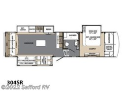 New 2017  Forest River Blue Ridge 304SR by Forest River from Safford RV in Thornburg, VA
