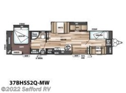 New 2017  Forest River Wildwood 37BHSS2Q-MW by Forest River from Safford RV in Thornburg, VA