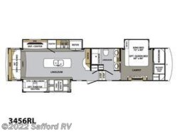 New 2017  Forest River Cardinal 3456RL by Forest River from Safford RV in Thornburg, VA