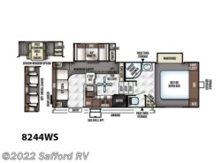 Used 2015  Forest River Rockwood Signature Ultra Lite 8244WS by Forest River from Safford RV in Thornburg, VA