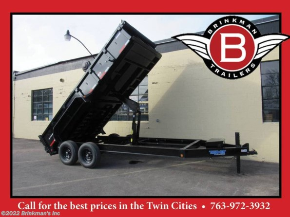 2020 Top Hat 83x14 Dump trailer   14k available in Delano, MN