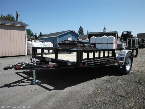 2021 PJ Trailers Utility U712-3k available in Halsey, OR