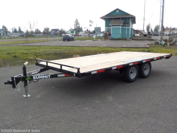 "2022 Summit Trailer Alpine 102"" x 16"