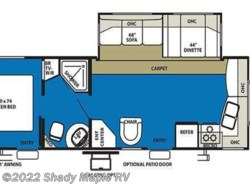 Used 2010  Forest River Wildwood 29FKSS by Forest River from Shady Maple RV in East Earl, PA