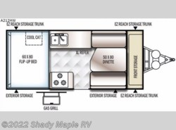 New 2017  Forest River Rockwood Hard Side High Wall Series A212HW by Forest River from Shady Maple RV in East Earl, PA
