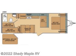 New 2018  Shasta Oasis 26BH by Shasta from Shady Maple RV in East Earl, PA